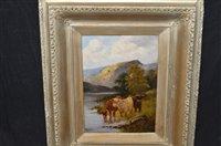 Lot 620 - Henry Calvert oil painting
