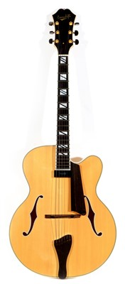 Lot 140A - Benedetto style Jazz guitar