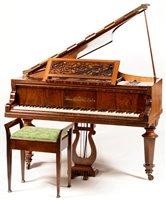 693 - Erard Grand Piano and stool