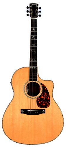 Lot 176-Larrivee acoustic guitar cased