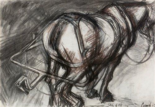 Lot 219-Norman Stansfield Cornish watercolour