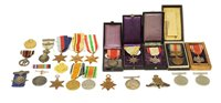 316 - British and Japanese medals