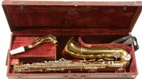 Lot 3-Selmer Saxophone cased