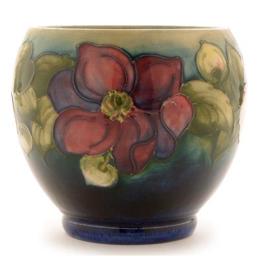 Lot 97-Moorcroft vase.