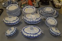 "Lot 590 - Wedgwood ""Seine"" pattern dinner service."