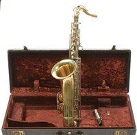 Lot 1-Evette Saxophone cased