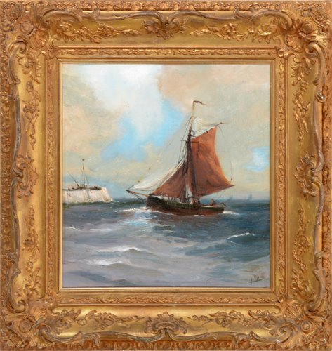 Lot 259-H* Webb - oil.