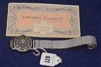 Lot 677 - Longines wristwatch