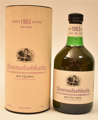 Lot 1020-Bunnahabhain limited 40 years old
