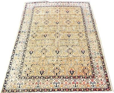 Lot 676 - Tabriz carpet