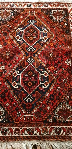 Lot 591-Qashqai rug