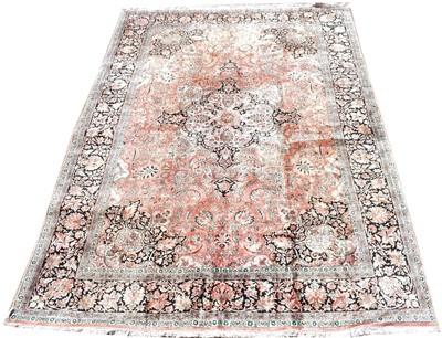 Lot 685 - Silk carpet