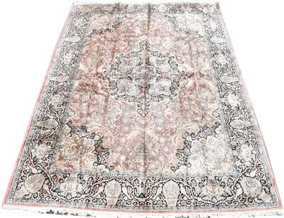 Lot 634-Silk carpet
