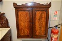 Lot 1146 - Mahogany collectors cabinet