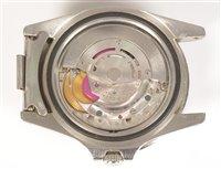 Lot 469-Rolex GMT Master: a gentleman's stainless steel bracelet watch.