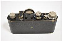 Lot 121 - Leica 1929 model 1 camera