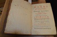 Lot 967 - 18th Century book by Richard Hooker