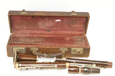 Lot 14-Albert clarinet