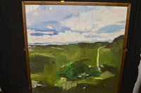 Lot 641 - Claire H* oil painting