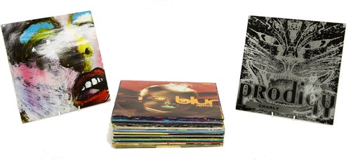 Lot 393 - Approx thirty five dance and pop records.