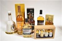 1107 - Seven bottles/boxes of whisky