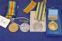Lot 727 - War medals