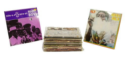 Lot 388-Approx forty reggae records.
