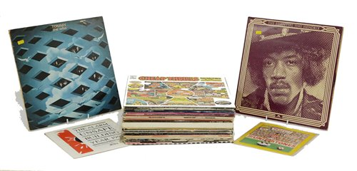 Lot 386-Rock and pop records