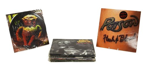 Lot 385-Rock and Metal records