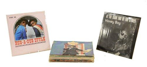 Lot 350-Reggae records