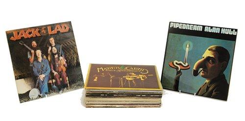 Lot 342-Folk records