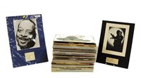 Lot 279-Count Basie records and signed pictures
