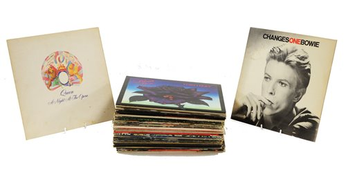 Lot 277 - Rock and pop records
