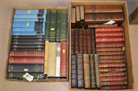 Lot 763 - Leather-bound books