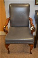 Lot 1170 - Pair armchairs