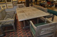 Lot 1034 - garden table and chairs