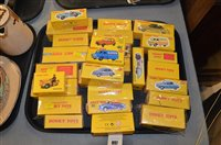 Lot 897 - Reproduction Dinky cars