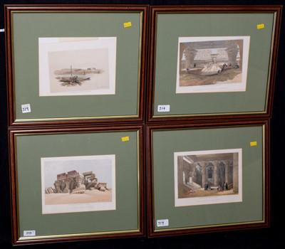 Lot 8-David Roberts prints