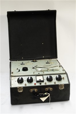 Lot 31 - Ferrograph mono tape recorder,  c.1952.