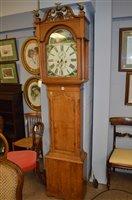 Lot 1166 - Longcase clock