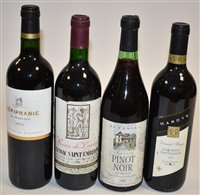 Lot 1008-Four bottles of wine