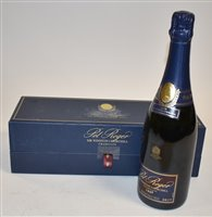 Lot 1007-Pol Roger Sir Winston Churchill champagne 1998