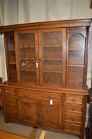Lot 1145 - welsh dresser and lamp