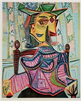 Lot 157-After Pablo Picasso print