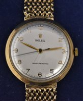 Lot 1178 - 9ct gold Rolex wristwatch