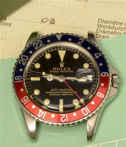 1140 - Rolex Oyster Perpetual GMT-Master