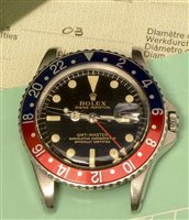 Lot 1140-Rolex Oyster Perpetual GMT-Master