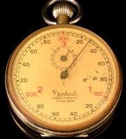 Lot 1161 - WWII Hanhart stopwatch