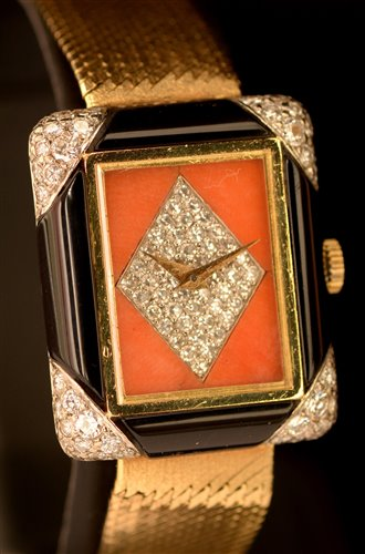 Lot 1154-Chopard cocktail watch