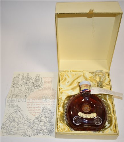 Lot 1001-Remy Martin Louis XIII cognac in Baccarat decanter